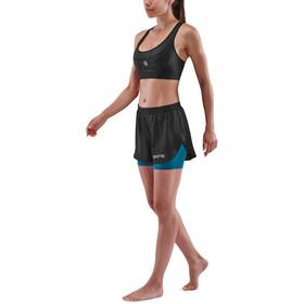 Skins Series-3 X-Fit shorts Damer, sort